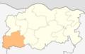 Map of Cherven bryag municipality (Pleven Province).png