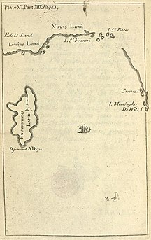 De Witt Island-See also-Map of Houyhnhnms land