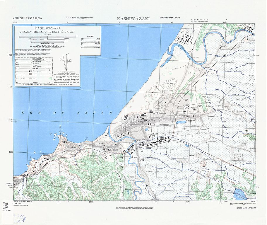 FileMap Of Kashiwazaki Niigata Prefecture Japan By US Army - Us army travel map