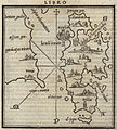 Map of Lesbos and the coast of Asia Minor - Bordone Benedetto - 1547.jpg