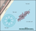 Map of the CT dive site Clan Stuart.png
