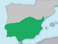 Mapa Squalius pyrenaicus.png