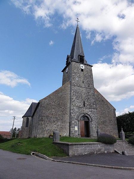 Marbaix (Nord, Fr) église
