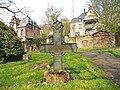 Marburg Friedhof Barfüßertor 113 Kreuz Kürschner 1857 Vorderseite.JPG