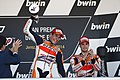 Marc Márquez and Dani Pedrosa 2014 Jerez 4.jpeg