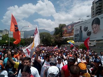 Timeline of the 2017 Venezuelan protests - Opposition march on 6 April