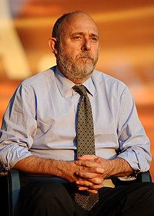 Marco Rossi-Doria alla Festa dell'Unità di Roma nel 2012.