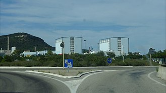 Marcoule Nuclear Site - Image: Marcoule Site 3