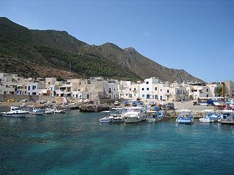 Marettimo - Port of Marettimo