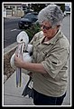 Margate Pelican Rescue- Sally with Pelican-3 (6811326352).jpg