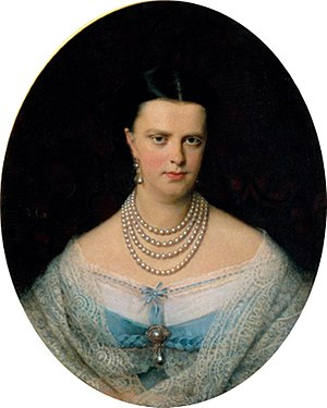 Maria Letizia Bonaparte, Duchess of Aosta - Maria Letizia's mother Maria Clotilde of Savoy