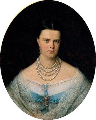Maria Letizia Bonaparte, Duchess of Aosta - Maria Letizia's mother Maria Clotilde of Savoy