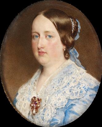 William Charles Ross - Maria II, Queen of Portugal, c. 1852.