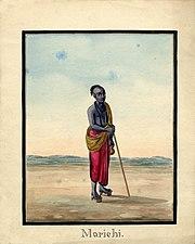 Marichi, a Rishi and son of Brahma.