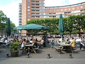 Marie Heinekenplein - Marie Heinekenplein, June 2009