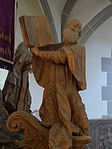 Marienstiftskirche Lich Kanzel Thomas von Aquin 07.JPG