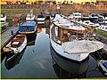 Marina ^ boatyard, Thames at Surbiton. - panoramio.jpg