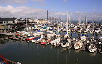 Marina at Pier 39 in San Francisco