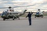 Marine One Departs Joint Base Andrews (46898054614).jpg