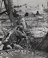 Marine Shoots on a Japanese Pill Box, Tarawa, November 1943 (10961873905).jpg