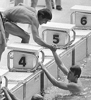 Jerry Heidenreich American swimmer
