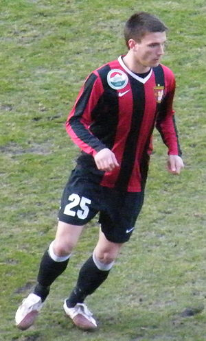 Marko Šimić (footballer, born 1988) - Marko playing for Becamex Bình Dương in 2015