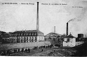 Rive-de-Gier - Marrel frères Etaings factory in Châteauneuf