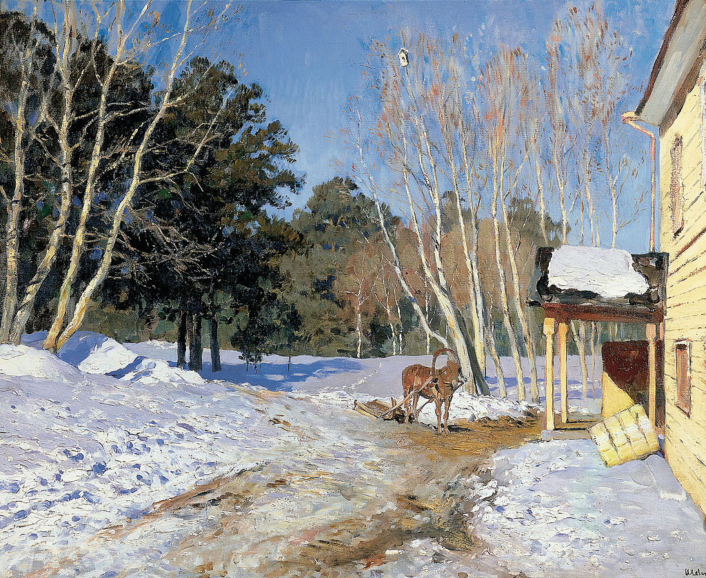 March by Isaac Levitan