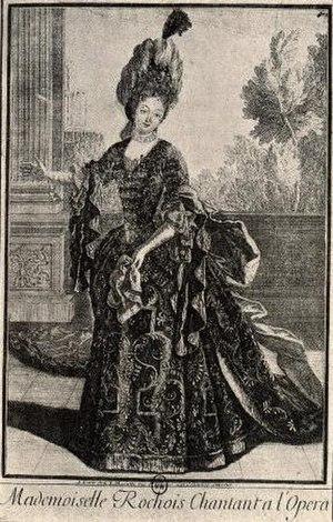 Vénus et Adonis - Marie Le Rochois, Venus in the opera's 1697 premiere