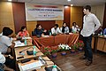 Martin Bellamy Interacts with Participants and Dignitaries - valedictory Session - Collections and Storage Management Workshop - NCSM - Kolkata 2016-02-20 9957.JPG