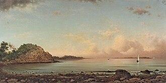 Martin Johnson Heade - Singing Beach, Manchester, Massachusetts, 1862