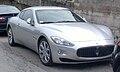 Maserati GranTurismo 4.2 V8 405CV (silver, front III).jpg