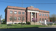 Massac County Courthouse front and southern end.jpg