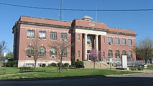 Das Massaac County Courthouse in Metropolis