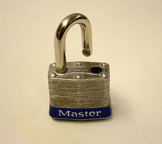 Master Lock - Image: Master lock
