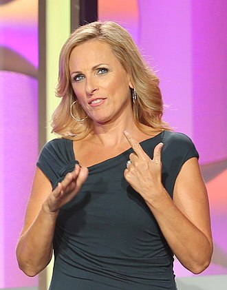 Marlee Matlin - Matlin as one of the presenters at the 2014 AHA Hero Dog Awards