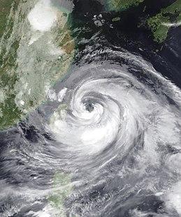 Typhoon Matsa Pacific typhoon in 2005