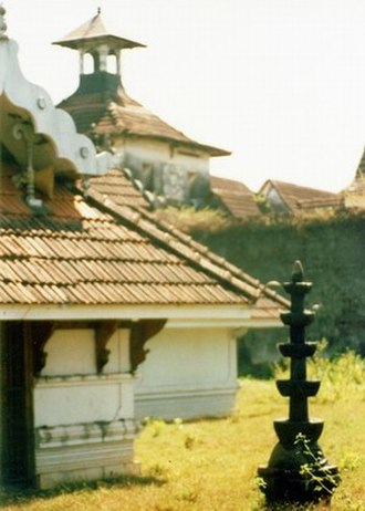 Kingdom of Cochin - Mattancherry Palace-temple, built during the Portuguese period by the Cochin Raja Veera Kerala Varma
