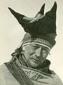 Mattis Johansen Pentha har i ca. 60 år loset posten fram over Finnmarksvidda i kamp mot storm og varg..jpg