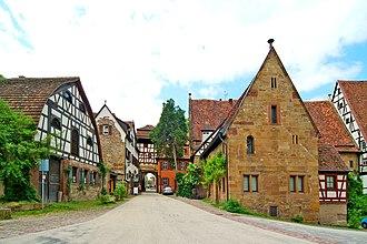 Maulbronn Monastery - Entrance area, western courtyard