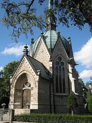 Juselius Mausoleum - Image: Mausoleum of Juselius