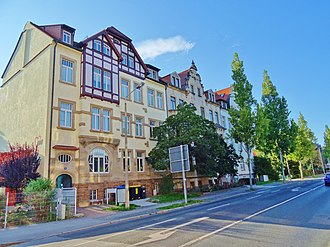 Victor Klemperer - The house at Maxim Gorki Street No 16 in Pirna, where the German resistance hid his diaries.