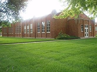 National Register of Historic Places listings in Morgan County, Utah - Image: Mech Arts Bldg Morgan Utah