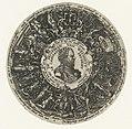 Medaillon met de buste van Kapitein van Wijsheid, Theodor de Bry, ca. 1577 - ca. 1578.jpg