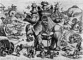 Meester van de Sint-Joriskermis De belegering van een olifant.jpg