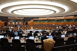 Eurocontrol - A meeting of Eurocontrol members