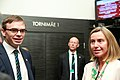 Meeting of Federica Mogherini, High Representative of the European Union for Foreign Affairs and Security Policy and Sven Misker, Estonian Minister of Foreign Affairs IMGM3780 (35495194111).jpg