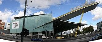South Wharf, Victoria - Image: Melbourne Exhibition Centre