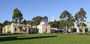 Melbourne Observatory - Image: Melbourne Observatory Building & Astrograph House
