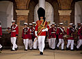 "Members of the ""President's Own"" U.S. Marine Corps Band perform during an Evening Parade at Marine Barracks Washington in Washington, D.C., June 27, 2014 140627-M-KS211-046.jpg"